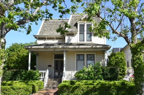 Old house in Petaluma Historic District