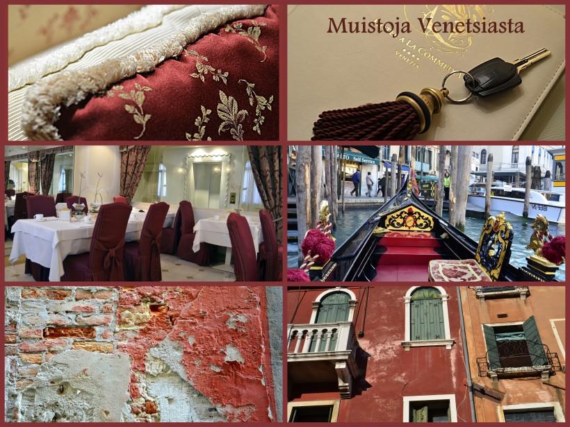 muistoja Venetziasta