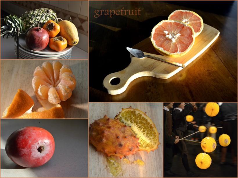 valoisa hedelmätarjotin
