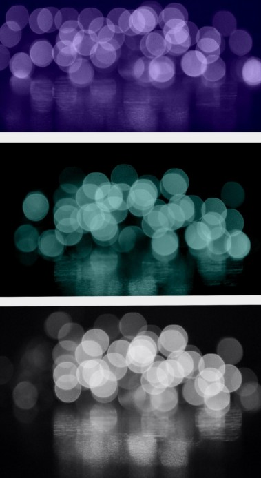 bokeh collage