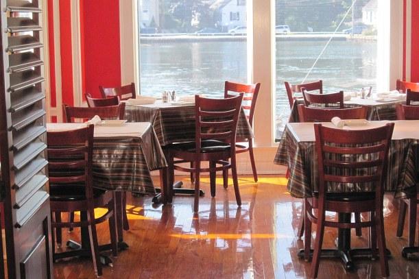 ravintola. tyhjä, pöytä, tuoli, näköala, irma weisel